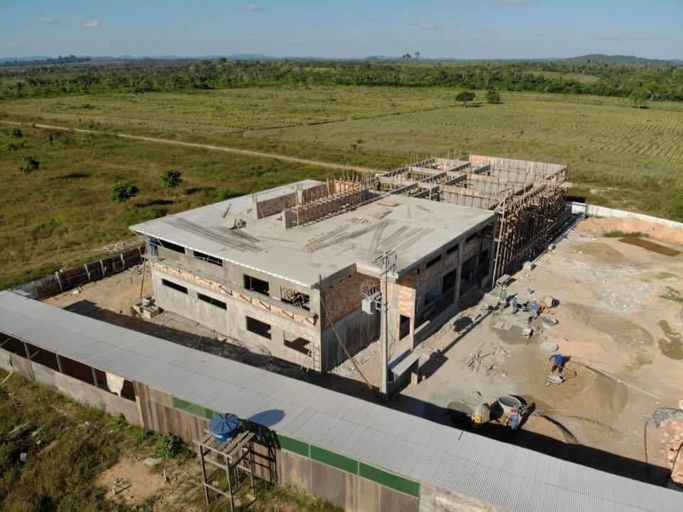 Construção do prédio da Unifesspa em São Félix do Xingu-PA