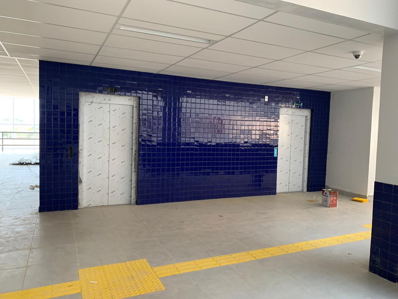 Está em fase de conclusão a obra do Prédio Multiuso de 5 pavimentos da Unifesspada, na Unidade III. de Marabá