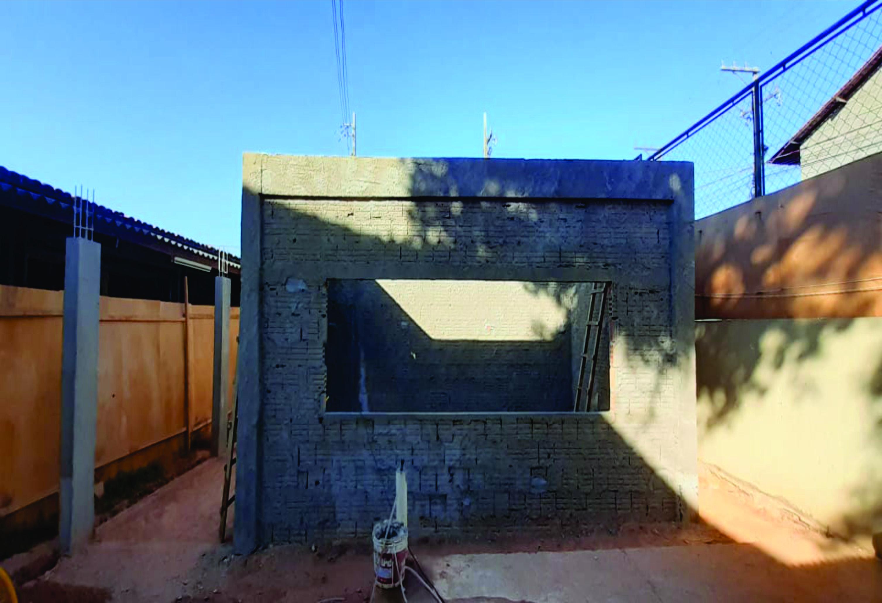 Início das obras de construção do Laboratório da  Faculdade de Ciências Sociais do Araguaia Tocantins- FACSAT (UnidadeI).