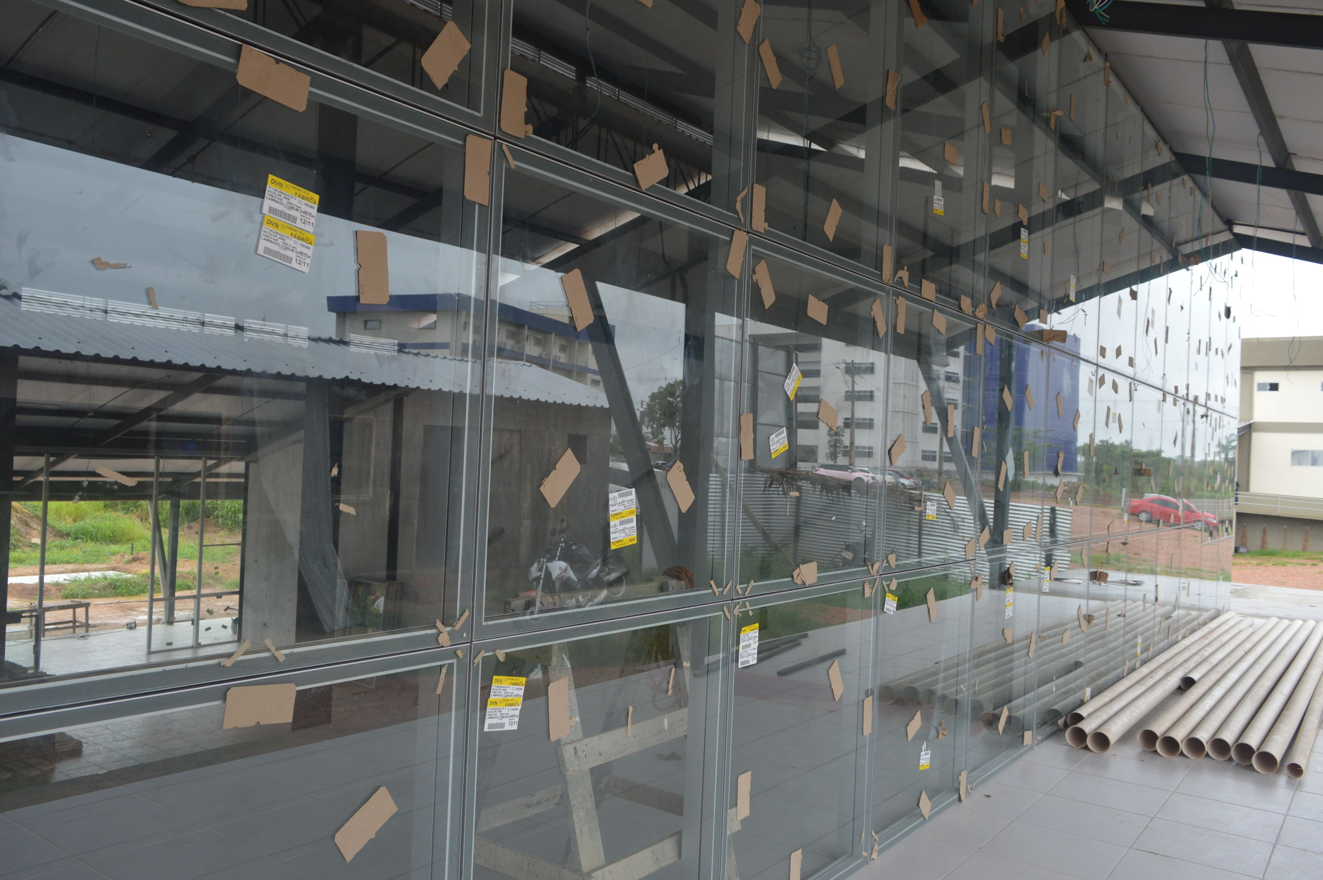 Construção do O Restaurante Universitário (R.U.), da UNIFESSPA, na Unidade III