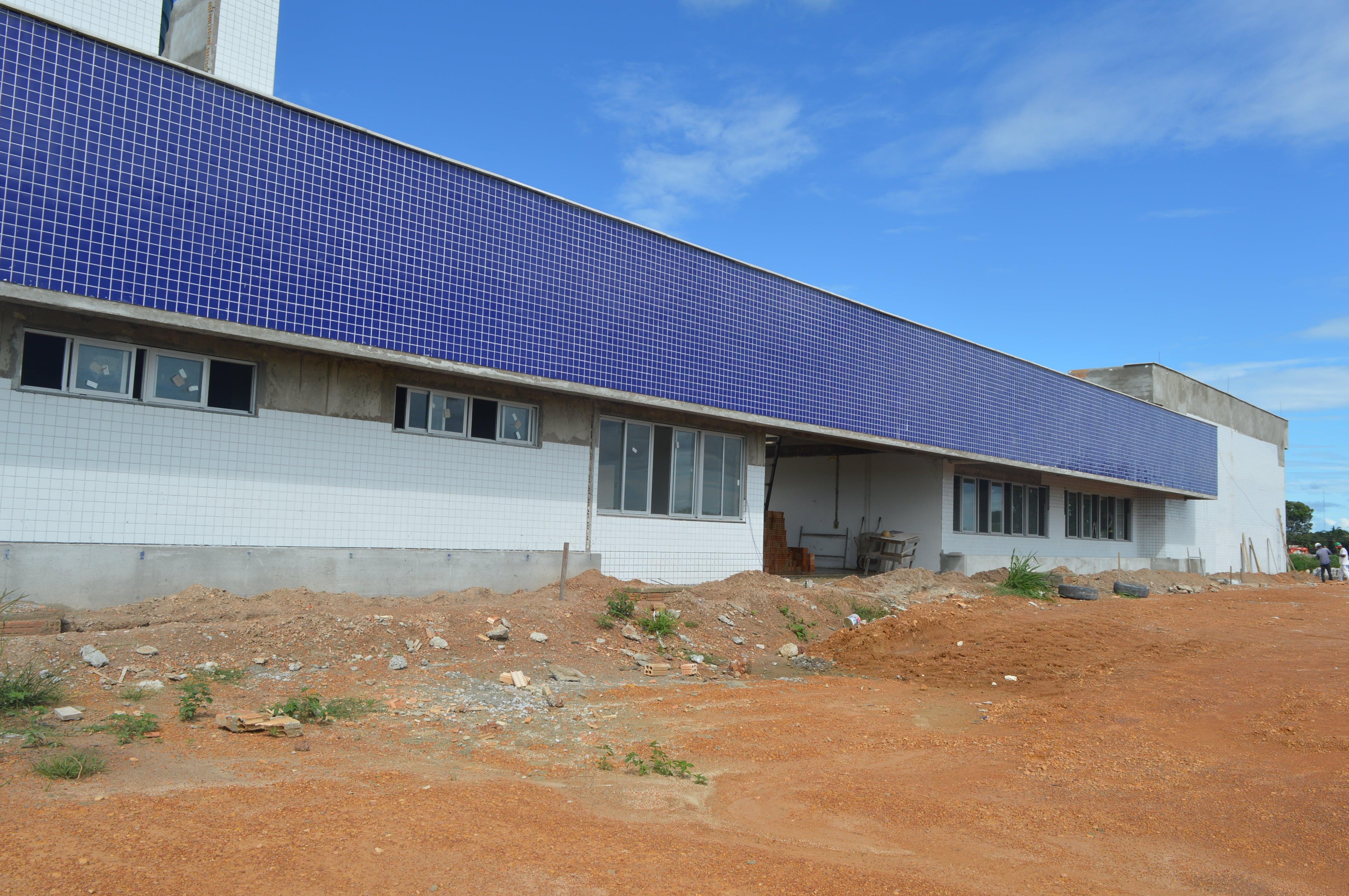 Obra de Construção do Bloco de Laboratórios do campus Universitário da UNIFESSPA em Santana do Araguaia/PA